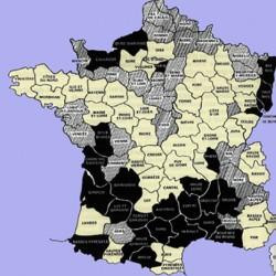 Le protestantisme en France vers 1815