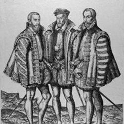 Les trois frères Coligny