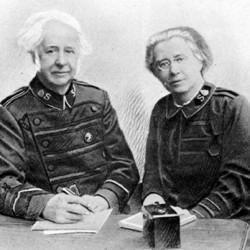 William Booth (1856-1929), fils du fondateur, général de l'Armée du Salut