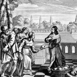 Abraham Bosse (1602-1676), Donner à manger à ceux qui ont faim