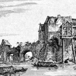 Temple de Charenton (94)  : vue en perspective