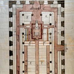 Temple de Charenton (plan)