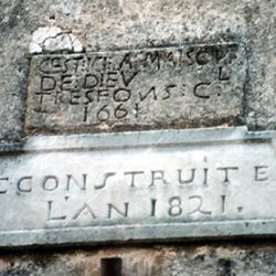 Durfort (Gard) : pierre du 1er temple