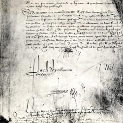 Édit de Nantes : les signatures