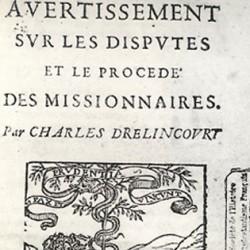 Avertissement sur les disputes ... de Charles Drelincourt
