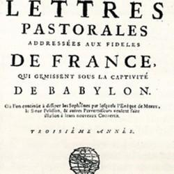 Lettres pastorales de Pierre Jurieu (Rotterdam, 1688)