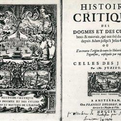 Histoire critique de Pierre Jurieu