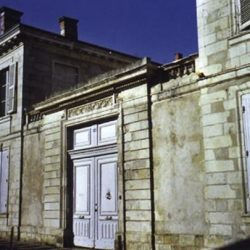 La Rochelle, ancien hôtel de Marsan, demeure de la Duchesse de Rohan.