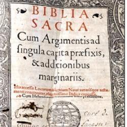 Bible latine vulgate, 1495