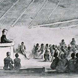 Un culte missionnaire il y a un siècle