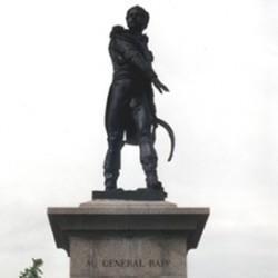 Colmar. Bartholdi, statue du Général Rapp (XIX<sup>e</sup> siècle)