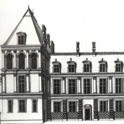 J. I Androuët du Cerceau, château de Fontainebleau (77)