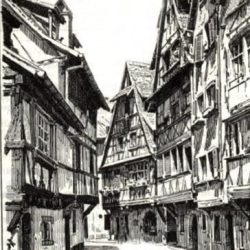 Strasbourg : maisons datant du XVIe siècle