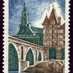 Timbre : la ville de Montauban, le musée Ingres