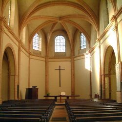 Intérieur du Temple des Carmes, Montauban (82)