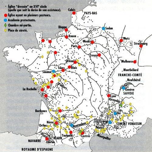 Carte France Villes Principales Xviie Siecle