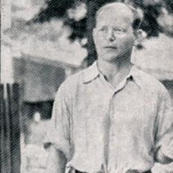Dietrich Bonhoeffer à la prison de Tegel en 1944
