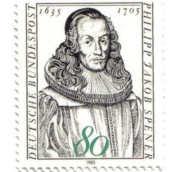 Philip Jacob Spener (1635-1705), timbre