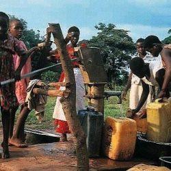 Aide à la création d'un puits par l'ADRA, Agence adventiste