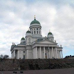 Cathédrale luthérienne d'Helsinki (Finlande)