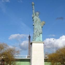 Statue de la Liberté à Paris de Auguste Bartholdi