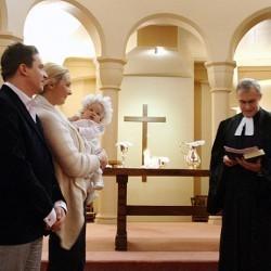Lecture de la liturgie du baptême