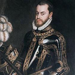 Philippe II d'Espagne, (peinture anonyme 1554)