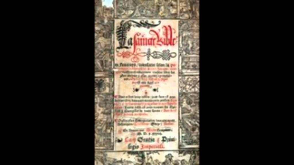 La Bible de Lefèvre d'Etaples, par Paul Lienhard (extrait Fréquence Protestante)
