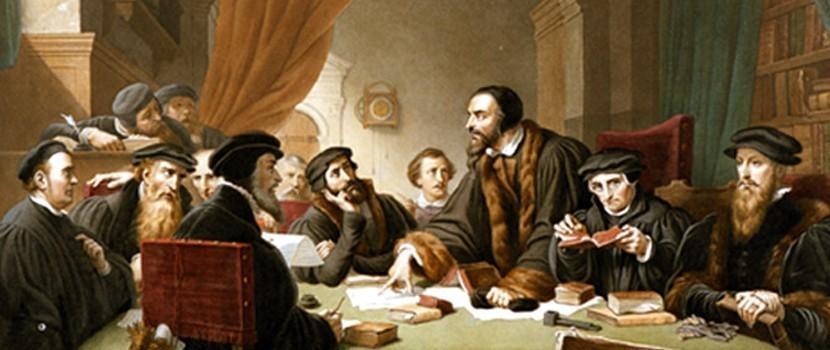 Slider - Jean Calvin (1509-1564)