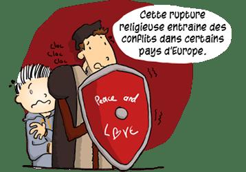 La rupture engendre des conflits dans certains pays d'Europe