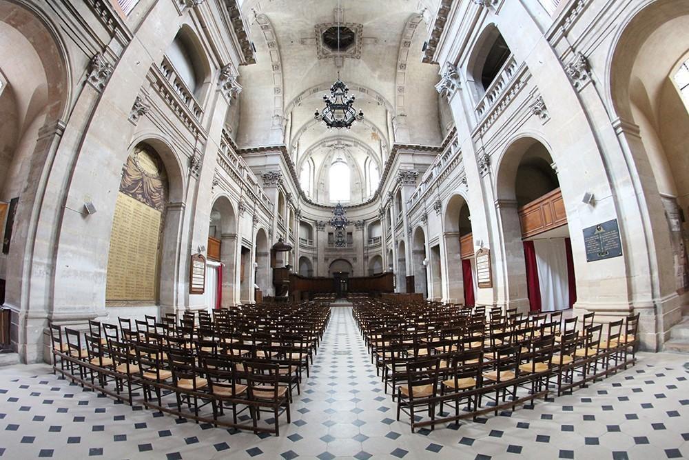 Temple protestant de l oratoire du louvre int rieur for Louvre interieur
