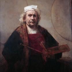 Autoportrait par Rembrandt