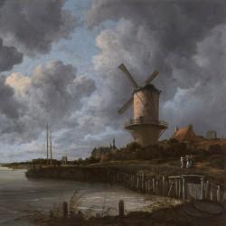 Jacob van Ruisdael, Moulin près de Wijk bij Duurstede