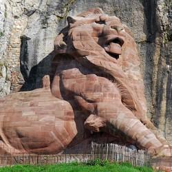 Le Lion de Belfort (1875-1879), sculpture de Bartholdi
