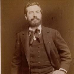Portrait de Bartholdi (1883), photographie d'Antoine Meyer