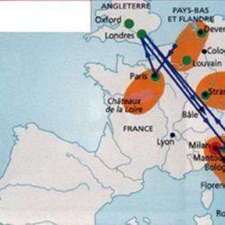 Zentren des Humanismus und der Renaissance in Europa