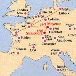 Explosion de l'imprimerie (1440-1540)