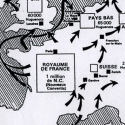 Les refuges proches des protestants français après la Révocation