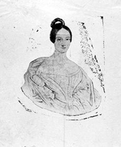 Ary Scheffer, Hélène de Mecklembourg (morte en 1858)