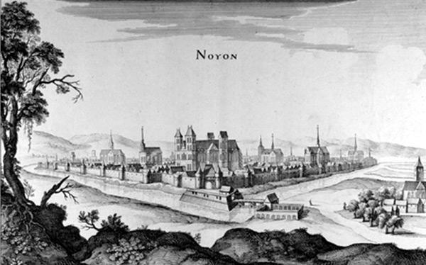 Noyon au XVI<sup>e</sup> siècle