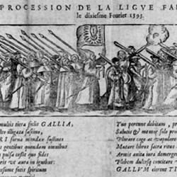 Die Liga: Prozession in Paris am 10. Februar 1593