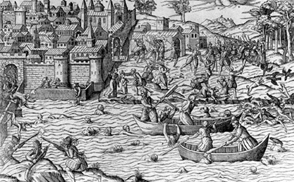 Massacre de Tours-juillet 1562
