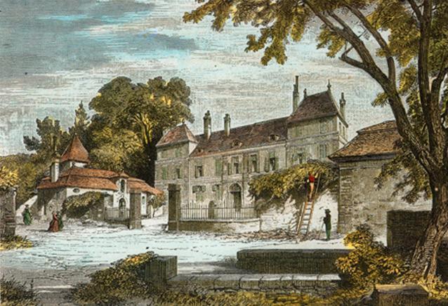 Château de Coppet à l'époque de Mme de Staël