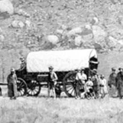 Wagon missionnaire à Kalabané