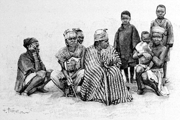 Groupe de Sénégalais