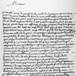 Lettre de Marie Durand
