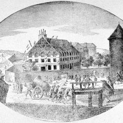 Démolition du Temple de Charenton (94)