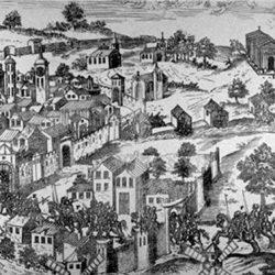 Surprise de la Ville de Nîmes, la nuit, par les protestants (1569)