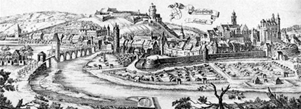 Montbéliard au début du XVII<sup>e</sup>siècle