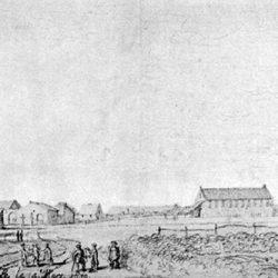 BègleTemple en 1639 à Bègles (Gironde)